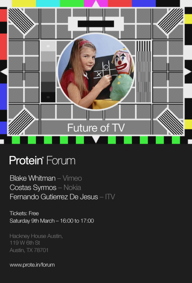 Protein TV (re)launches at SXSW